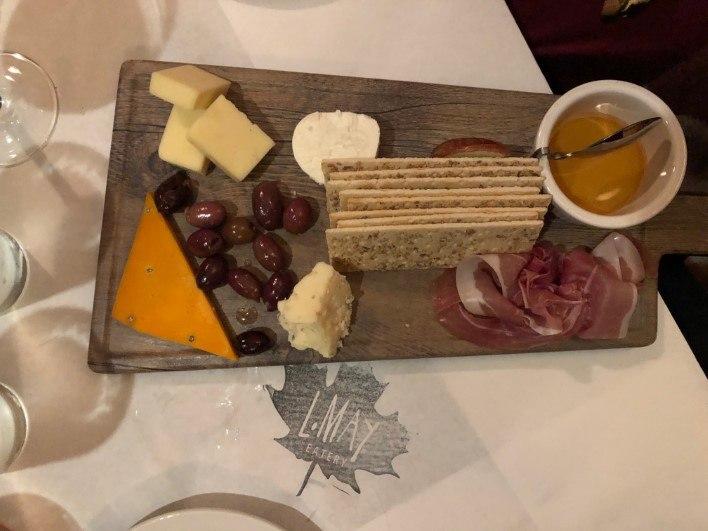 Cheese Tray at L May Eatery