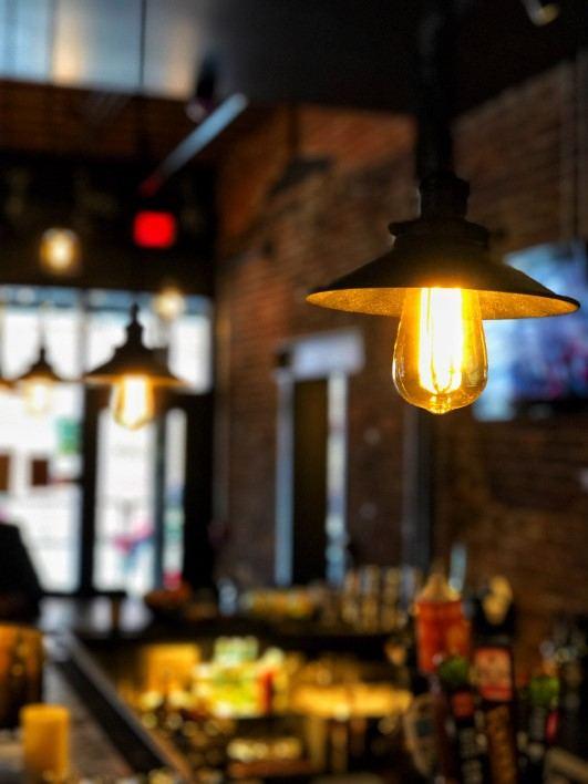 Lights at Brazen Open Kitchen