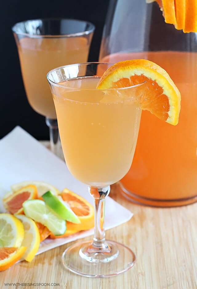 Citrus White Wine Spritzers