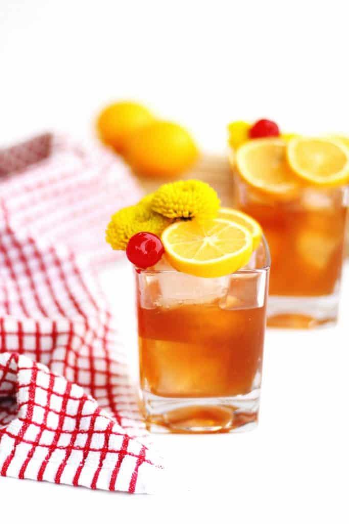 Meyer lemon old fashioned | Rhubarbarians