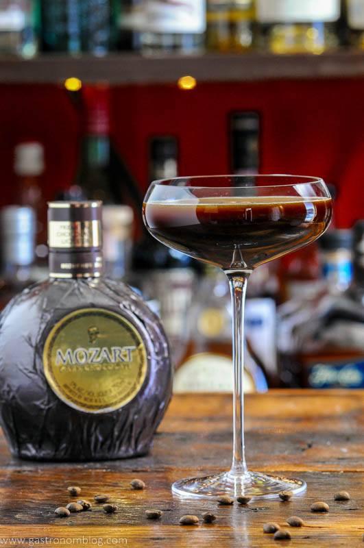 Espresso Martini in coupe