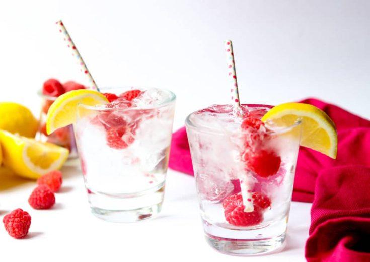 Raspberry Vodka Soda: My Favorite Summer Cocktail