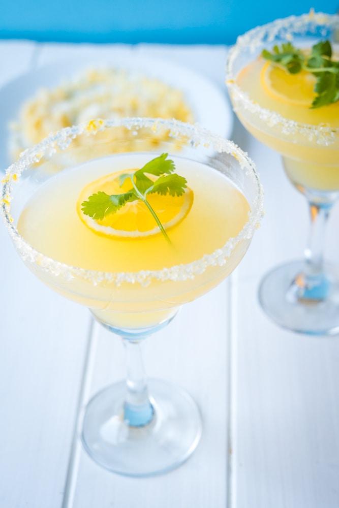 Meyer Lemon Margarita - A Twist On A Simple Margarita Recipe