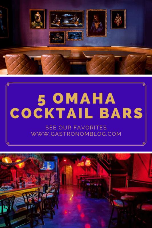 2 purple colored bar interiors