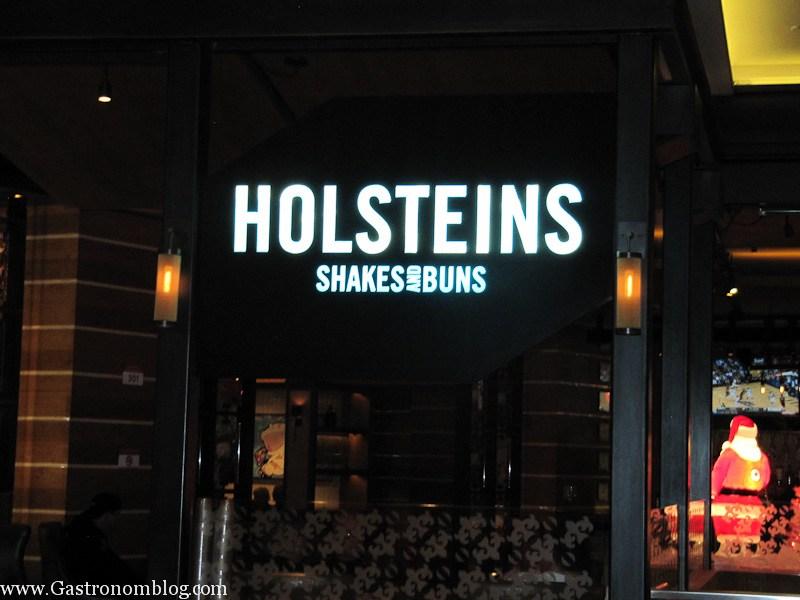 Holstein's Sign in Cosmopolitan Las Vegas